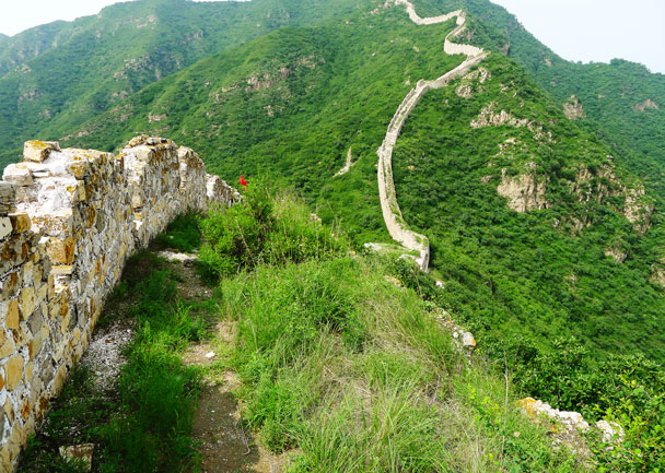 This is part of the Zhenbiancheng Great Wall, and we hike here quite a lot - Shuitou Village Loop hike, 2017/7/15