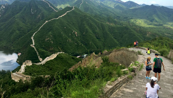 Walled Village to Huanghuacheng Great Wall Hike, 2017/08/06
