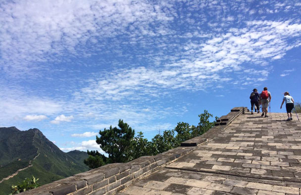 Huanghuacheng to the Walled Village, 2017/08/24 photo #9