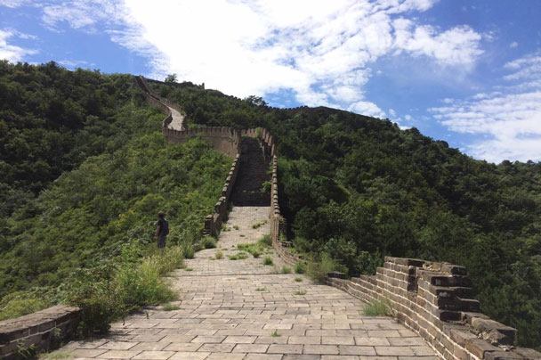 Huanghuacheng to the Walled Village, 2017/08/24 photo #11