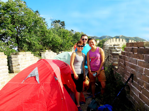 Camping Switchback Great Wall, 2017/09/16-17 photo #2
