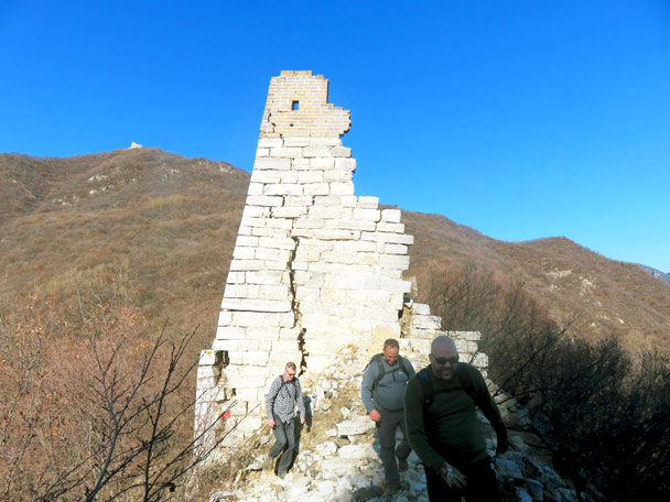 20171104-Great Wall Nine-Eyes Tower photo #28