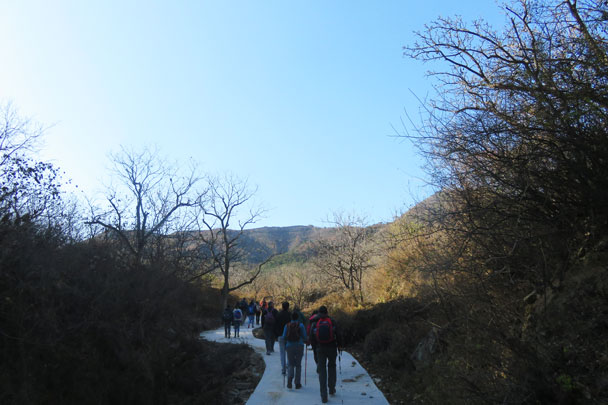 Walled Village to Huanghuacheng Great Wall, 2017/11/08 photo #7