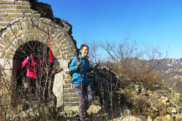 Walled Village to Huanghuacheng Great Wall, 2017/11/08 photo #21