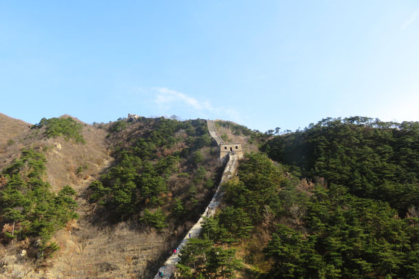 Walled Village to Huanghuacheng Great Wall, 2017/11/08 photo #25