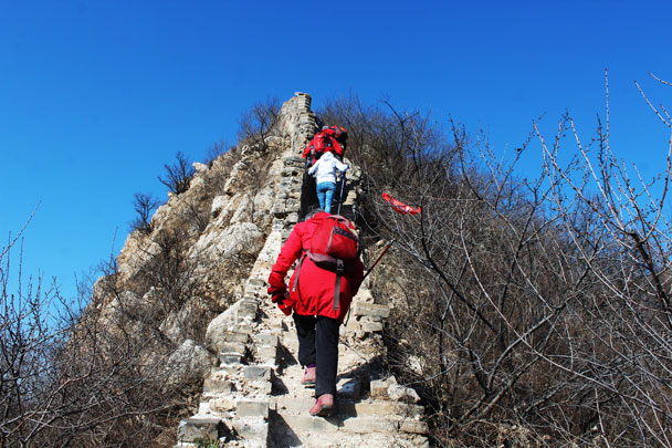 Middle Route of Switchback Great Wall, 2017/11/12 photo #12