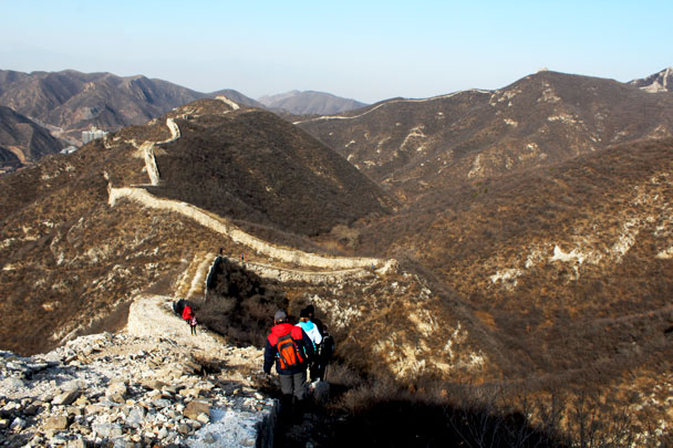 Middle Route of Switchback Great Wall, 2017/11/12 photo #21