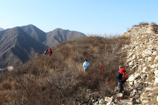 Middle Route of Switchback Great Wall, 2017/11/12 photo #22