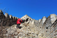 Middle Route of Switchback Great Wall, 2017/11/12