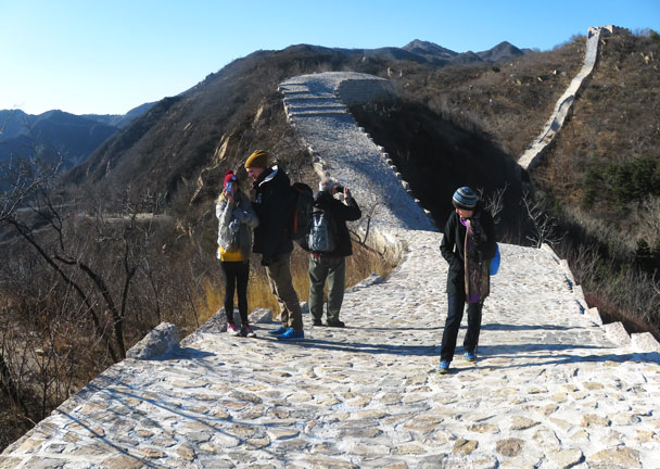 Longquanyu Great Wall to the Little West Lake, 2017/11/18 photo #1