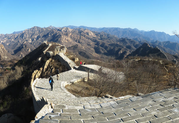 Longquanyu Great Wall to the Little West Lake, 2017/11/18 photo #2