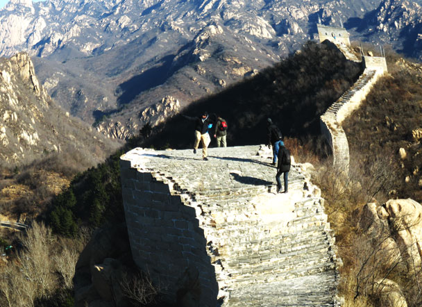 Longquanyu Great Wall to the Little West Lake, 2017/11/18 photo #3