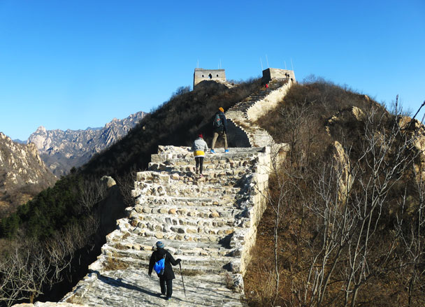 Longquanyu Great Wall to the Little West Lake, 2017/11/18 photo #4