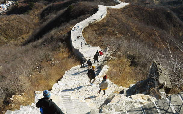 Longquanyu Great Wall to the Little West Lake, 2017/11/18 photo #5