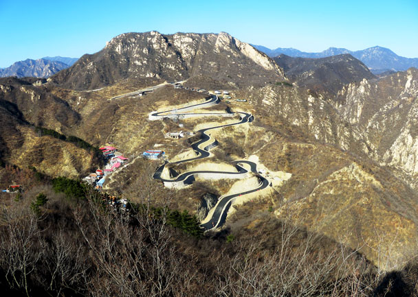 Longquanyu Great Wall to the Little West Lake, 2017/11/18 photo #6