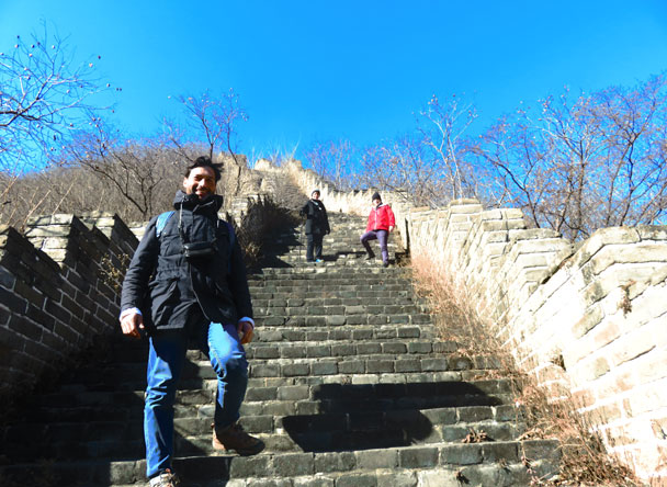 Longquanyu Great Wall to the Little West Lake, 2017/11/18 photo #8