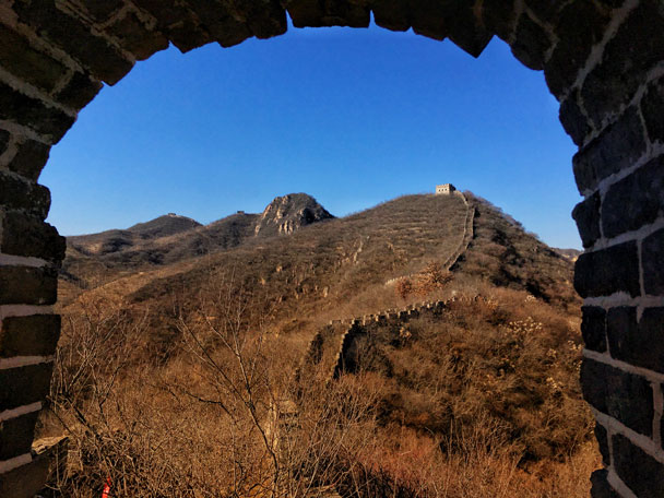 Longquanyu Great Wall to the Little West Lake, 2017/11/18 photo #11