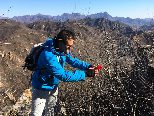 Longquanyu Great Wall to the Little West Lake, 2017/11/18 photo #15
