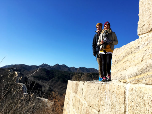 Longquanyu Great Wall to the Little West Lake, 2017/11/18 photo #18