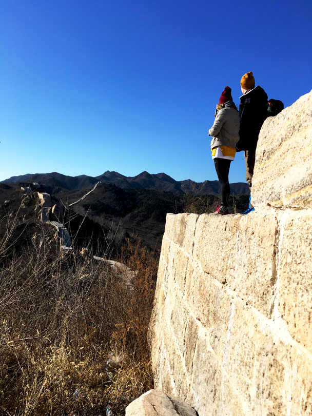 Longquanyu Great Wall to the Little West Lake, 2017/11/18 photo #19