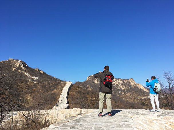 Longquanyu Great Wall to the Little West Lake, 2017/11/18 photo #20