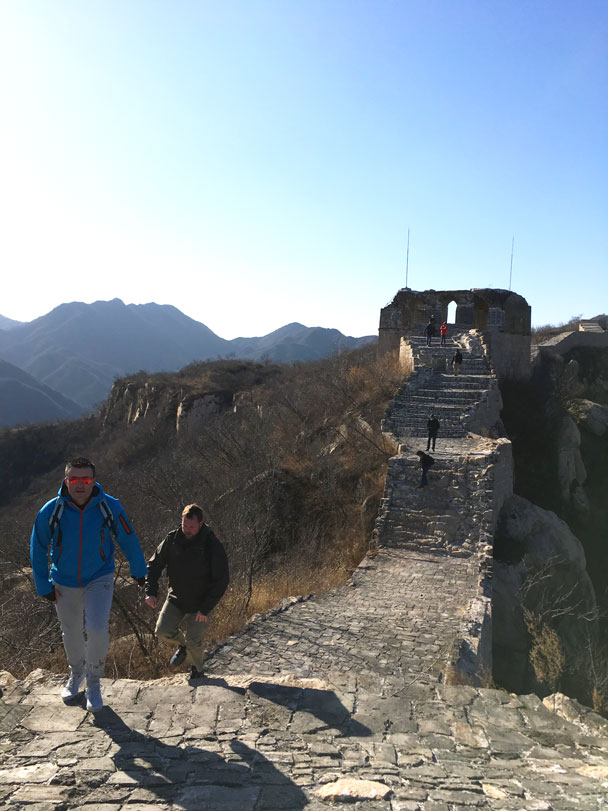 Longquanyu Great Wall to the Little West Lake, 2017/11/18 photo #23