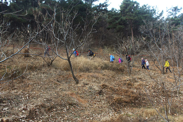 Shunyi Hikers Rolling Hills and Empty Lanes, 2017/11/19 photo #5