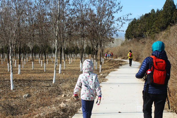Shunyi Hikers Rolling Hills and Empty Lanes, 2017/11/19 photo #27