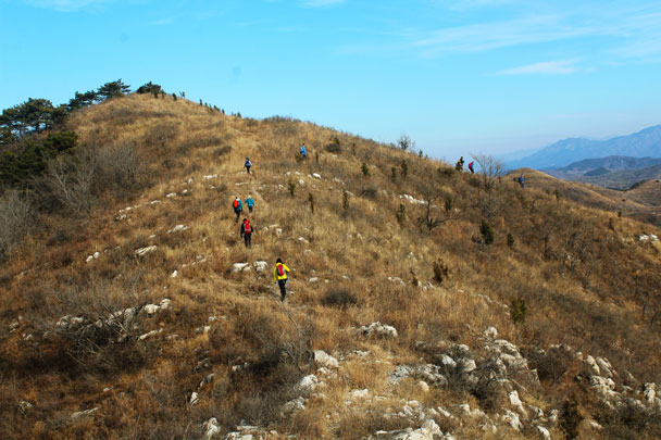 Shunyi Hikers Rolling Hills and Empty Lanes, 2017/11/19 photo #31