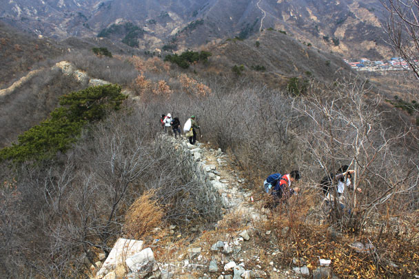 Walled Village to Huanghuacheng Great Wall, 2017/11/25 photo #11