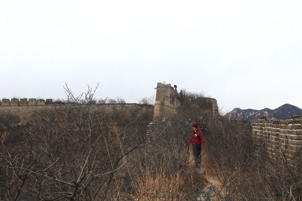 Walled Village to Huanghuacheng Great Wall, 2017/11/25 photo #15