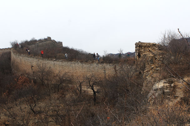Walled Village to Huanghuacheng Great Wall, 2017/11/25 photo #17