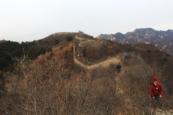 Walled Village to Huanghuacheng Great Wall, 2017/11/25 photo #19