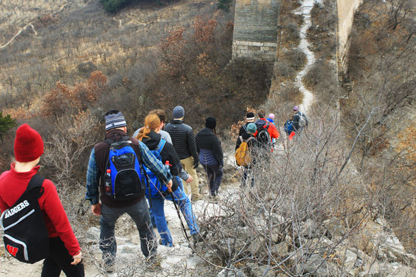 Walled Village to Huanghuacheng Great Wall, 2017/11/25 photo #21