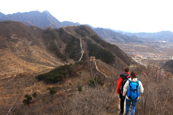 Walled Village to Huanghuacheng Great Wall, 2017/11/25 photo #23