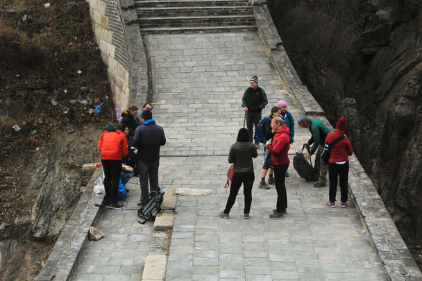 Walled Village to Huanghuacheng Great Wall, 2017/11/25 photo #26