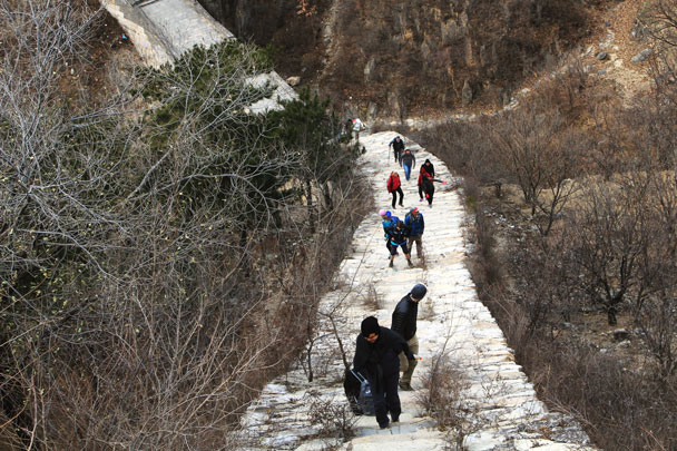 Walled Village to Huanghuacheng Great Wall, 2017/11/25 photo #28