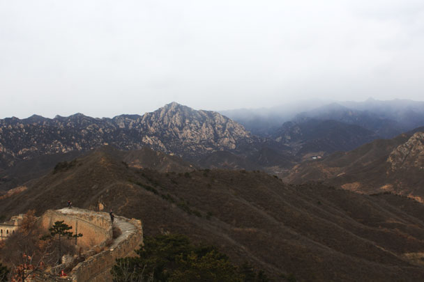 Walled Village to Huanghuacheng Great Wall, 2017/11/25 photo #33