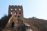 Gubeikou to Jinshanling Great Wall East, 2017/12/02