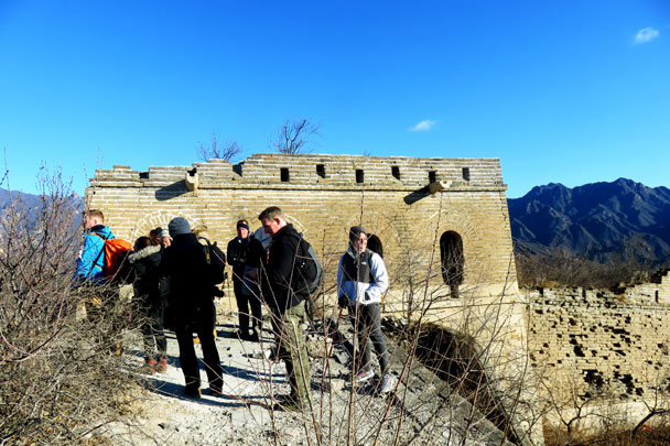 Walled Village to Huanghuacheng Great Wall, 2017/12/20 photo #3