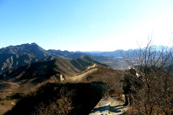 Walled Village to Huanghuacheng Great Wall, 2017/12/20 photo #5