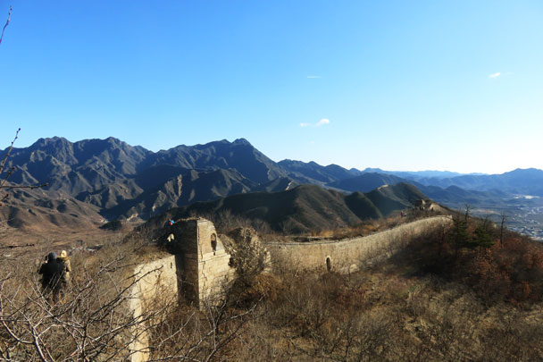 Walled Village to Huanghuacheng Great Wall, 2017/12/20 photo #7