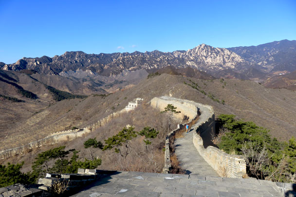 Walled Village to Huanghuacheng Great Wall, 2017/12/20 photo #14