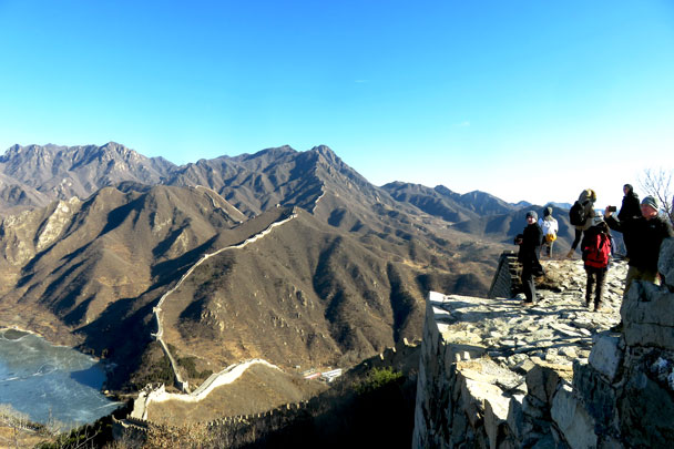 Walled Village to Huanghuacheng Great Wall, 2017/12/20 photo #15