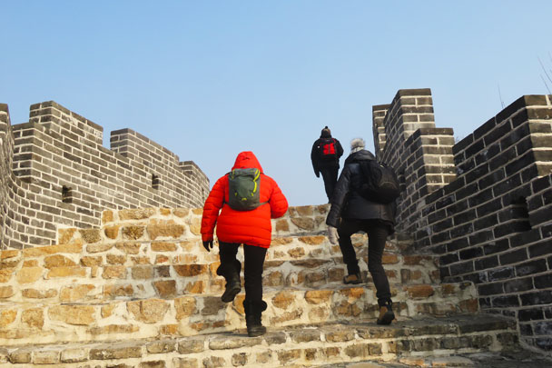 Longquanyu Great Wall to the Little West Lake, 2017/12/27 photo #2