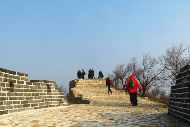 Longquanyu Great Wall to the Little West Lake, 2017/12/27 photo #3