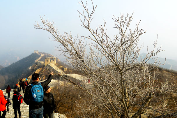 Longquanyu Great Wall to the Little West Lake, 2017/12/27 photo #4