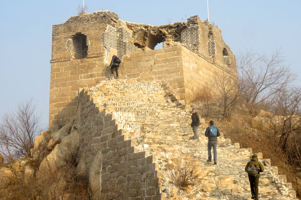 Longquanyu Great Wall to the Little West Lake, 2017/12/27 photo #7