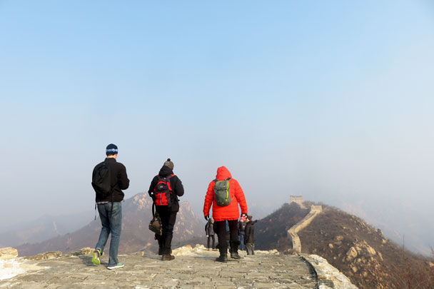 Longquanyu Great Wall to the Little West Lake, 2017/12/27 photo #9