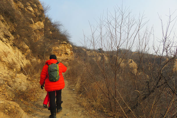 Longquanyu Great Wall to the Little West Lake, 2017/12/27 photo #12